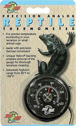 Zoo Med TH-20E Analog Reptile Thermometer - zur Temperaturüberwachung im Terrarium