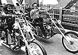 Easy Rider/Bridge Bikes On Bridge Poster Drucken (91,44 x 60,96 cm)
