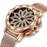 Best Designer Watches - Womens Watches Ladies Waterproof Rose Golden Mesh Watch Review