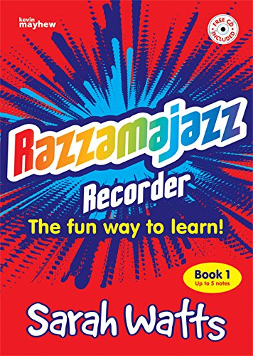 razzamajazz-recorder-book-1-with-cd-revised-edition-sarah-watts