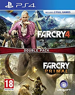 Far Cry Primal and Far Cry 4 Double Pack (PS4) (B01LS047TA) | Amazon price tracker / tracking, Amazon price history charts, Amazon price watches, Amazon price drop alerts