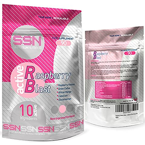 Raspberry Ketone Blast By Urban Fuel Raspberry Ketone Diet Pills Combination Fat Burners with Raspberry Ketone, African Mango, Green Coffee Bean, Cpasicum and Glucomannan to name a few.