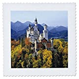 3drose Schloss Neuschwanstein, Bayern,