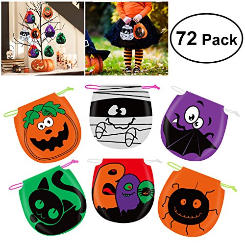 Halloween Drawstring Candy Bags