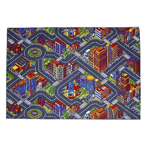 Tapis circuit Big City 140 x 200 cm