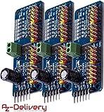 AZDelivery 3 x PCA9685 16 Kanal 12 Bit PWM Servotreiber für Arduino und Raspberry Pi -