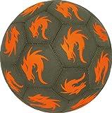 Derby Star Monta Freestyler– Pelota de fútbol, colorMarrón/Naranja, todo el año, color gris/naranja, tamaño 4,5