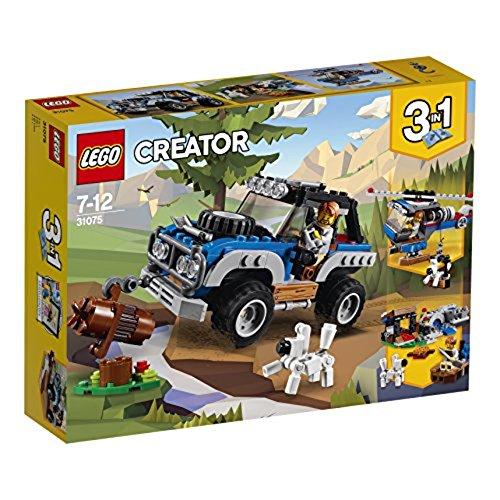 LEGO Creator 31075 - Outback-Abenteuer, Spielzeug für Jungen und Mädchen (Reserverad Felge)