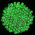 lederTEK, Solar Lichterkette 22m 200 LED 8 Modi Außenlichterkette Wasserdicht mit Lichtsensor Weihnachtsbeleuchtung, Beleuchtung für Haushalt, Außen, Garten, Hochzeit, Weihnachten