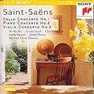Saint-Saëns: Cello, Piano and Violin Concertos