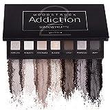 Moodstruck adicción paleta de sombra 2Cool con tonos de negro y plata