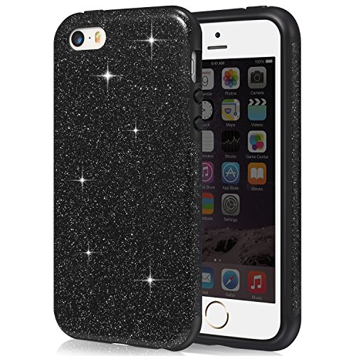 coque-iphone-se-tendlin-briller-bling-crystal-extreme-protection-tpu-silicone-hybride-souple-bumper-