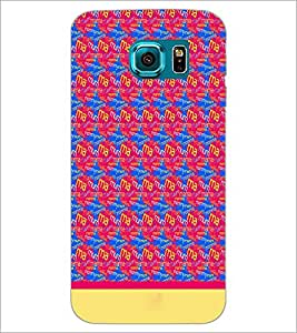 PrintDhaba Typography D-1915 Back Case Cover for SAMSUNG GALAXY S6 EDGE (Multi-Coloured)