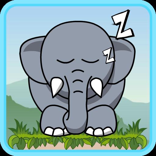 Schnarchen: Aufwachen Elefanten