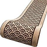 QiangDa Flur Teppich Läufer Langflor Teppiche Lang Eingang Latex Gelträger Anti-Rutsch Polypropylen-Teppichrolle Schneidbar Europäischer Stil, Dicke 7mm (Farbe : 1#, größe : 0.98m x 3m)