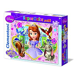 Clementoni 24450 - Sofia The First Royal Preparatory Academy - Maxi Puzzle 24 pezzi