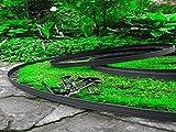 10 Meter - flexible Kunststoff  Rasenkanten  mit 60