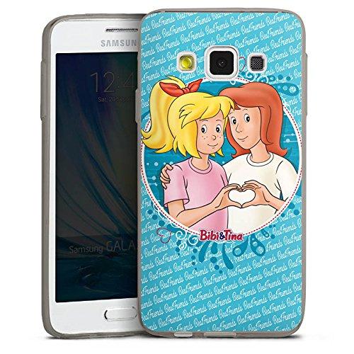 DeinDesign Samsung Galaxy A3 (2015) Slim Case transparent anthrazit Silikon Hülle Schutzhülle Bibi und Tina Fanartikel Merchandise Maedchen