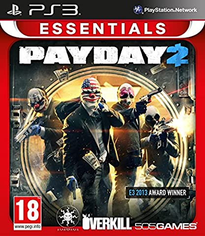 Pay Day Ps3 - Pay Day 2 Essential Hits (Ps3) [import