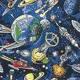Platz Stoff Planeten Stoff–0,5m