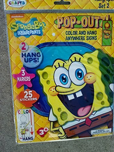 spongebob-squarepants-pop-outz-color-hang-anywhere-signs-hang-ups-assorted-styles-quantities-vary-by