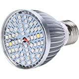 60W 60LED Full Spectrum Plant Grow Lamp Bulb Fill Light for Greenhouse Darkroom Plant Odling Hydroponic Flowers 85-265V