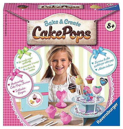 Ravensburger italy 18412 - set bake & create cake pops