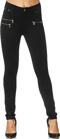 Elara Pantaloni Donna Elasticizzati Skinny Fit Jegging Chunkyrayan