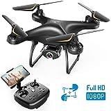 SNAPTAIN SP650 Drone 1080P FHD Telecamera per Principianti, Controllo Vocale, Controllo dei Gesti, Volo Circolare, Rotazione ad Alta velocità, modalità Hovering, modalità Headless