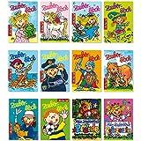 12 Zauberblöckchen im Set für Jungen und Mädchen (A8 -7,5x5,2cm) - 12 Motive - Lutz Mauder
