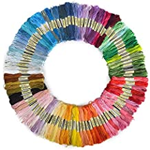 CRSF004 100 COLOURS Skeins 6 Stranded Deal CXC 100% Cotton Cross stitch embroidery thread