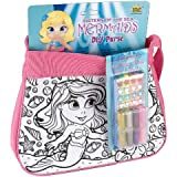 Wild Republic - Fashion Bag DIY Kit, diseño mermaid, color rosa (14148)