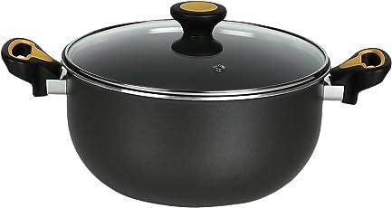 USA Brand- Meyer Skyline Non-Stick Cookware Casserole 24cm, Grey