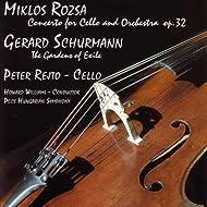 Rozsa - Schurman - Cello Concertos