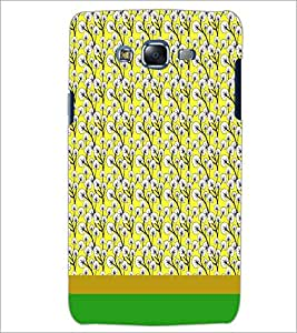 PrintDhaba Floral Pattern D-1885 Back Case Cover for SAMSUNG GALAXY ON 5 (Multi-Coloured)