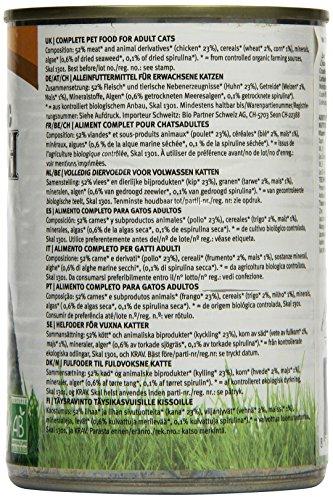 YARRAH Bio Katzenfutter Pate mit Huhn 400 g, 12er Pack (12 x 400 g) - 3