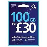 O2 (2G/3G/4G) UK & Europe Trio SIM PAYG £30 (Convert to Bundle - 20GB Data, 3000 mins, 3000 Texts) + International Calling Ca