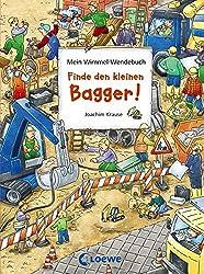 Mein Wimmel-Wendebuch: Finde den kleinen Bagger