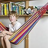 Kinder-Hängematte aus Baumwolle, für 1 Person, L145 x B120 cm, Belastbarkeit max. 70 kg