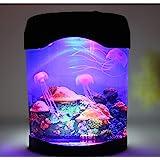 Gearmax® LED kunstmatige kwallen aquarium verlichting Jellyfish decoratie viscontainer nachtlamp