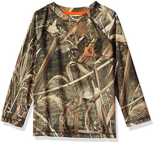 T-shirts Jungen Carhartt (Carhartt Jungen   T-Shirt  -  braun - )