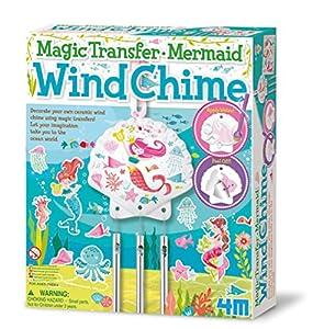 4M- Magic Transfer Mermaid Wind Chime: Arte con Pintura (00-04683)