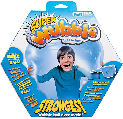 Preisvergleich Produktbild Wubble  - Bubble Ball mit Pumpe - Neu - blau