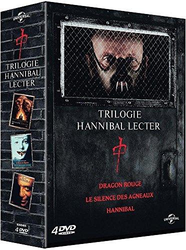 Coffret hannibal lecter : le silence des agneaux ; dragon rouge ; hannibal [Edizione: Francia]