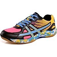 Men and Women Light Badminton Shoes Sneakers Non-Slip Breathable Comfortable Athletic Shoes