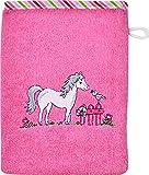 Wörner Waschhandschuh Frottier pink Größe 15x20 cm