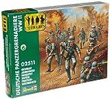 Revell 02511 - Figuras de soldados alemanes (Segunda Guerra Mundial, 57 piezas, escala: 1:72)