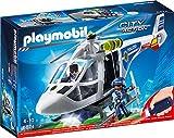 Produkt-Bild: PLAYMOBIL 6874 - Polizei-Helikopter mit LED-Suchscheinwerfer
