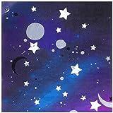 """20 Galaktische Papierservietten aus der Serie """"Galaxy"""" – Weltraum Party"""