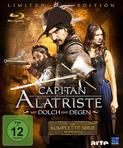 Capitan Alatriste - Mit Dolch und Degen Limited Edition (18 Folgen im 6 Disc Set) (exklusiv bei Amazon.de) [Blu-ray]